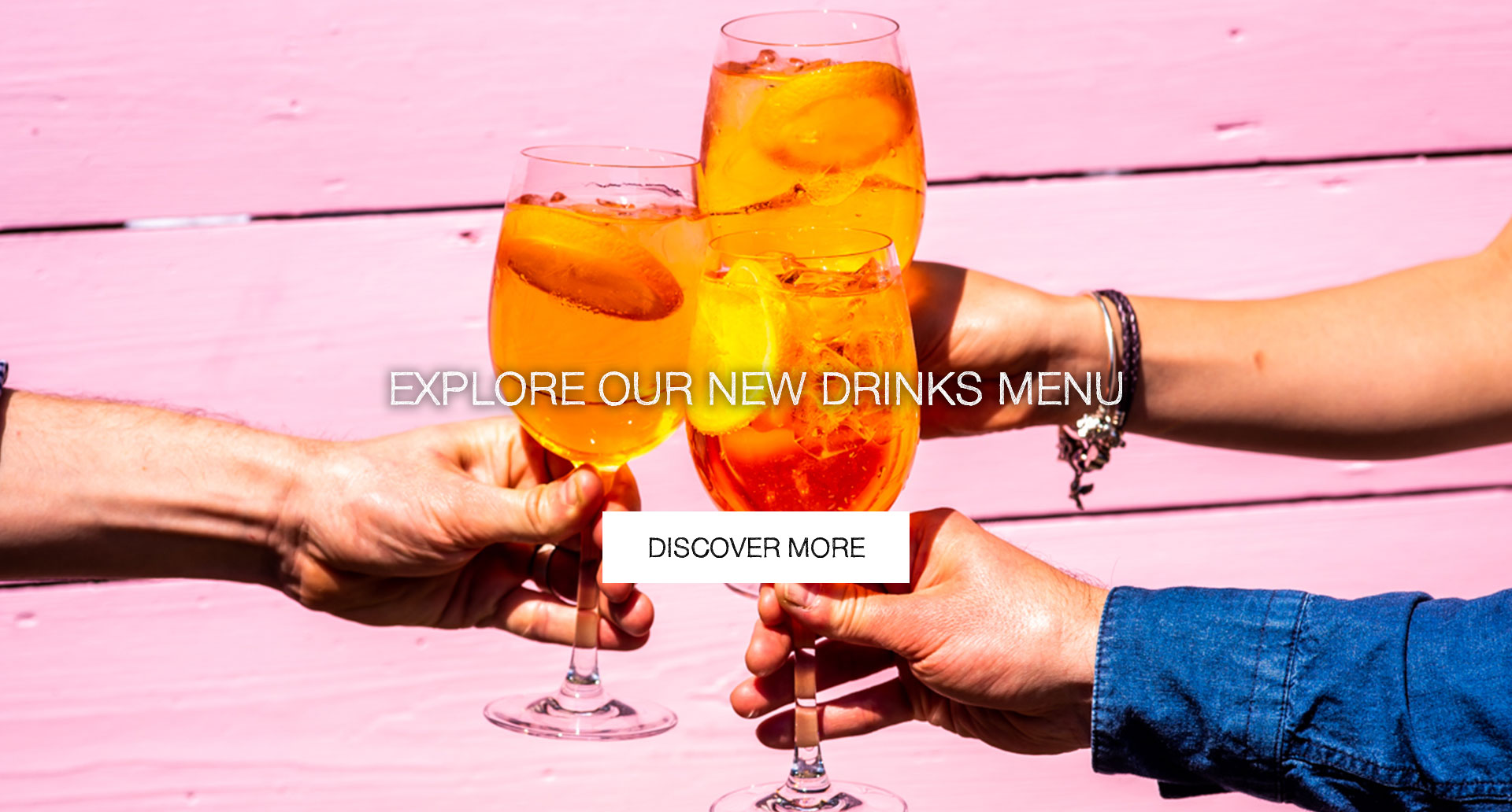 Our New Drinks Menu at Sixty Million Postcards